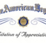 Boy Scout Citation of Appreciation